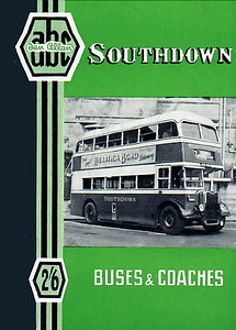 1950 Southdown Buses & Coaches, 1st edition, published August 1950, 41pp 2/6, code: 131/403/50/850.