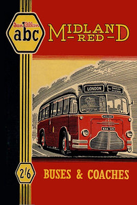1949 Midland Red Buses & Coaches, 2nd edition (with map), published July 1949, 96pp 2/6, no code.