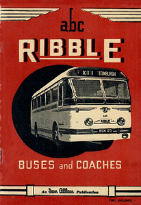 1952 Ribble Buses & Coaches, 2nd edition (with map), published August 1952, 64pp 2/-, code: 232/87/50/852. The same cover was used on the 1st and 2nd editions.