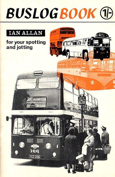 c.1965 Bus Log Book, 1/-.