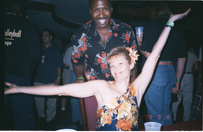 1999-9-18 Spike Volleyball LUAU-Party-Keith & Rose