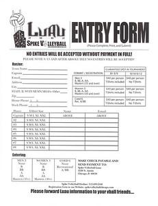 2002 Luau entry form
