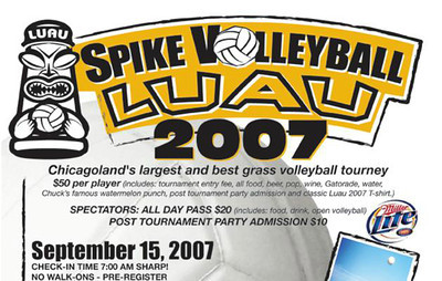 2007 Spike Volleyball Chicago LUAU