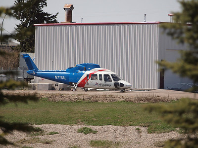 Lost and forlorn having been stored outside at Eagle Copters for over a year. Sikorsky S-76A built in 1982 and last registered to Bristow Helicopters USA.