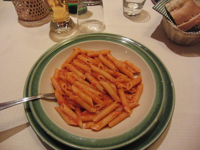 My favourite dish, Penne Arrabiata