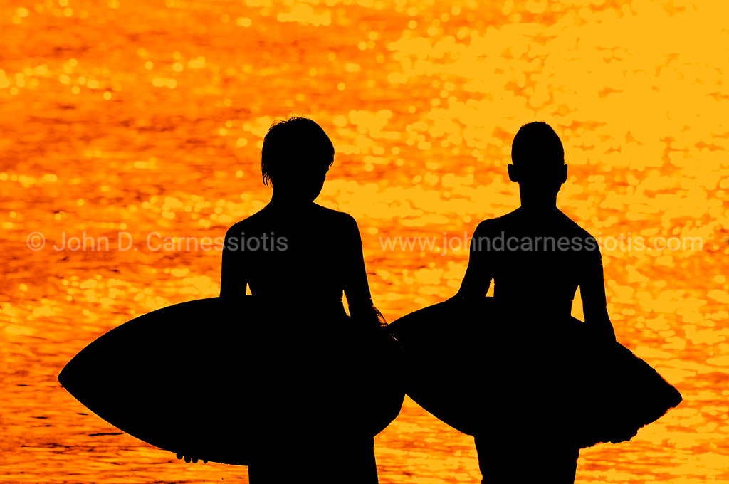 Little surfers