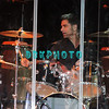 ATLANTIC CITY, NJ - OCTOBER 14:  John Stamos plays drums with the Beach Boys and performs at The Music Box, Borgata Hotel Casino & Spa on October 14, 2011 in Atlantic City, New Jersey.