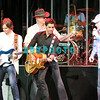ATLANTIC CITY, NJ - OCTOBER 14:  John Stamos and band members join Mike Love, Beach Boys lead singer as they perform at The Music Box, Borgata Hotel Casino & Spa on October 14, 2011 in Atlantic City, New Jersey.