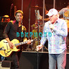 ATLANTIC CITY, NJ - OCTOBER 14: John Stamos joins Mike Love, Beach Boys lead singer as they perform at The Music Box, Borgata Hotel Casino & Spa on October 14, 2011 in Atlantic City, New Jersey.
