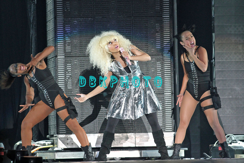 ATLANTIC CITY, NJ;  Britney Spears and Nicki Minaj appeared in concert in Atlantic City Boardwalk Hall, Saturday evening, August 6, 2011.