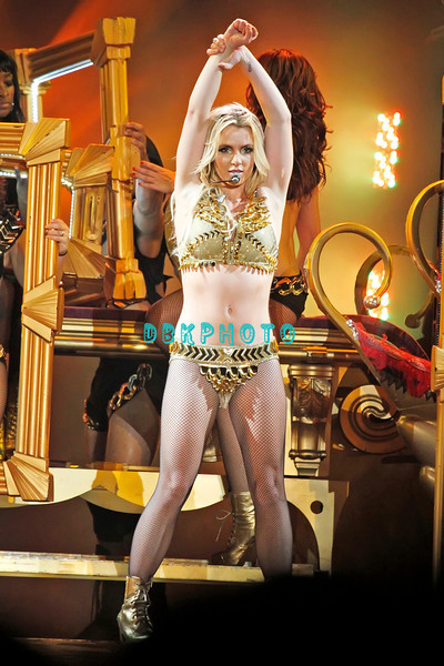 ATLANTIC CITY, NJ;  Britney Spears and Nicki Minaj appeared in concert in Atlantic City Boardwalk Hall, Saturday evening, August 6, 2011.