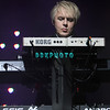 ATLANTIC CITY, NJ - OCTOBER 29:  Keyboardist Nick Rhodes of Duran Duran performs at The Borgata Event Center on October 29, 2011 in Atlantic City, New Jersey.
