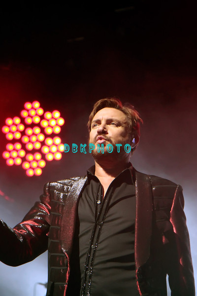 ATLANTIC CITY, NJ - OCTOBER 29:  Lead singer Simon Le Bon of Duran Duran performs at The Borgata Event Center on October 29, 2011 in Atlantic City, New Jersey.