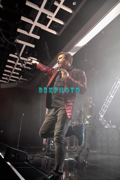 ATLANTIC CITY, NJ - OCTOBER 29:  Lead singer Simon Le Bon of Duran Duran performs at The Borgata Event Center on October 29, 2011 in Atlantic City, New Jersey.