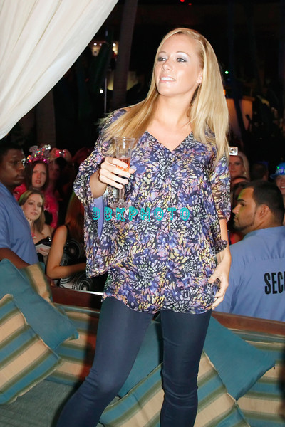 """ATLANTIC CITY, NJ - JULY 30:  Kendra Wilkinson attends the """"1/2 Way to New Years Eve"""" party at The Pool at Harrah's Resort on July 30, 2011 in Atlantic City, New Jersey."""