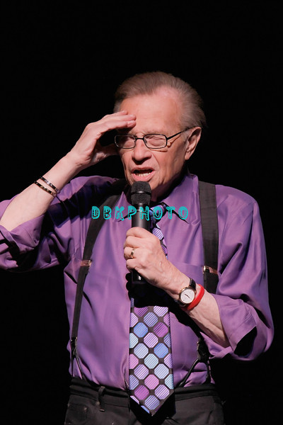 ATLANTIC CITY, NJ - MAY 14:  Larry King performs at The Music Box, Borgata Hotel Casino & Spa on May 14, 2011 in Atlantic City, New Jersey.