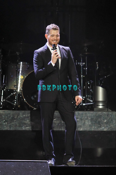 ATLANTIC CITY, NJ - JUNE 11:  Michael Buble performs at Boardwalk Hall Arena on June 11, 2011 in Atlantic City, New Jersey.