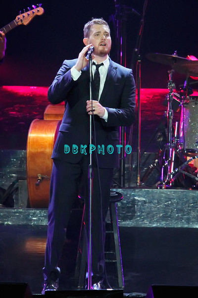 ATLANTIC CITY, NJ - JUNE 11:  Michael Buble performs at Boardwalk Hall Arena on June 11, 2011 in Atlantic City, New Jersey.