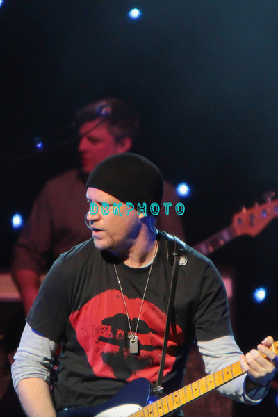 ATLANTIC CITY, NJ - APRIL 28: Dan Vickrey, guitarist for the Counting Crows peforms at The Borgata Event Center on April 28, 2012 in Atlantic City, New Jersey.