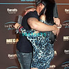 ATLANTIC CITY, NJ - MARCH 31:  DJ Pauly D hugs Renee Graziano of Mob Wives attends the DJ Pauly D kick-off event at The Pool After Dark at Harrah's Resort on March 31, 2012 in Atlantic City, New Jersey.