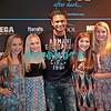 ATLANTIC CITY, NJ - MARCH 31:  DJ Pauly D poses with fans Kristy, Emma, Gia and Victoria as he attends the DJ Pauly D kick-off event at The Pool After Dark at Harrah's Resort on March 31, 2012 in Atlantic City, New Jersey.