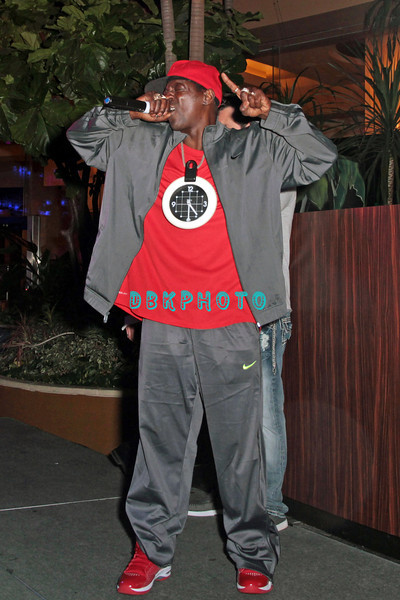 ATLANTIC CITY, NJ - MARCH 30:  Flav A Flav visits The Pool After Dark at Harrah's Resort on March 30, 2012 in Atlantic City, New Jersey.