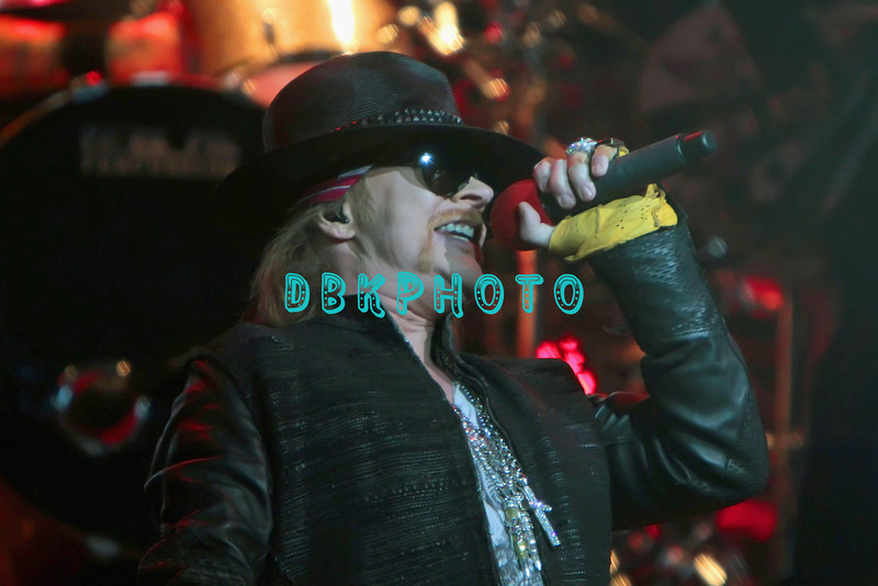 """ATLANTIC CITY, NJ - FEBRUARY 24:  Axl Rose of Guns N"""" Roses performs at the House of Blues on February 24, 2012 in Atlantic City, New Jersey."""
