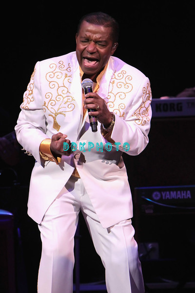 ATLANTIC CITY, NJ - FEBRUARY 19:  Ernest Wright of  Little Anthony and The Imperials performs at the House of Blues on February 19, 2012 in Atlantic City, New Jersey.