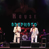 ATLANTIC CITY, NJ - FEBRUARY 19: Harold Jenkins, Ernest Wright, Clarence Collins and Anthony Gourdine of  Little Anthony and The Imperials performs at the House of Blues on February 19, 2012 in Atlantic City, New Jersey.