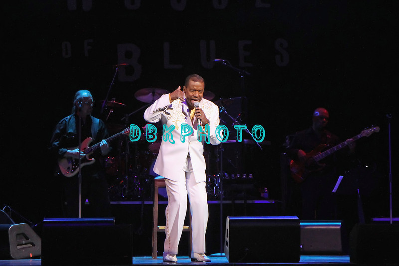 ATLANTIC CITY, NJ - FEBRUARY 19:  Anthony Gourdine of  Little Anthony and The Imperials performs at the House of Blues on February 19, 2012 in Atlantic City, New Jersey.