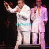 ATLANTIC CITY, NJ - FEBRUARY 19: Anthony Gourdine and  Harold Jenkins of  Little Anthony and The Imperials performs at the House of Blues on February 19, 2012 in Atlantic City, New Jersey.