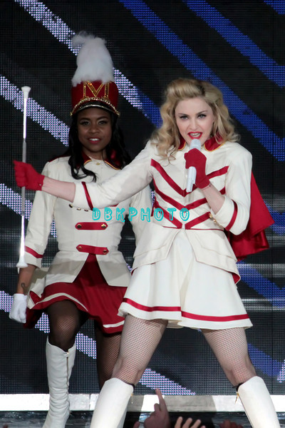 ATLANTIC CITY, NJ - SEPTEMBER 15:  Madonna performs at Boardwalk Hall Arena on September 15, 2012 in Atlantic City, New Jersey.