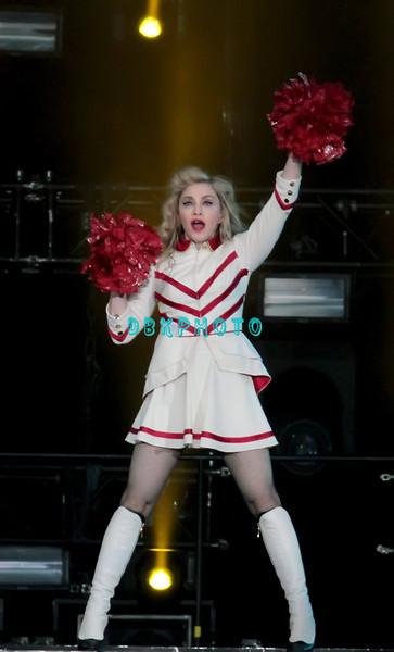 ATLANTIC CITY, NJ - SEPTEMBER 15:  Madonna performs at Boardwalk Hall Arena on September 15, 2012 in Atlantic City, New Jersey.