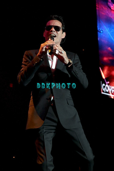 ATLANTIC CITY, NJ - AUGUST 17:  Marc Anthony performs at the Boardwalk Hall Arena on August 17, 2012 in Atlantic City, New Jersey.