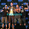 ATLANTIC CITY, NJ - JUNE 22:  Lars Ulrich, James Hetfield, Kirk Hammett and Rob Trujilo of Metallica attends the 2012 Orion Music + More Festival Press Conference at Bader Field on June 22, 2012 in Atlantic City, New Jersey.