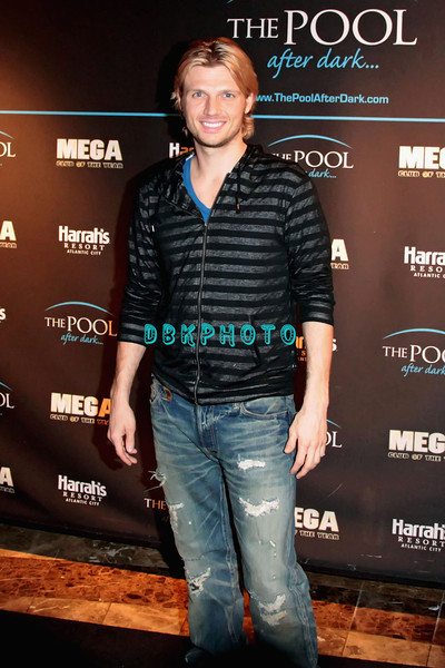 ATLANTIC CITY, NJ - FEBRUARY 04:  Nick Carter hosts a night at The Pool at Harrah's Resort on February 4, 2012 in Atlantic City, New Jersey.
