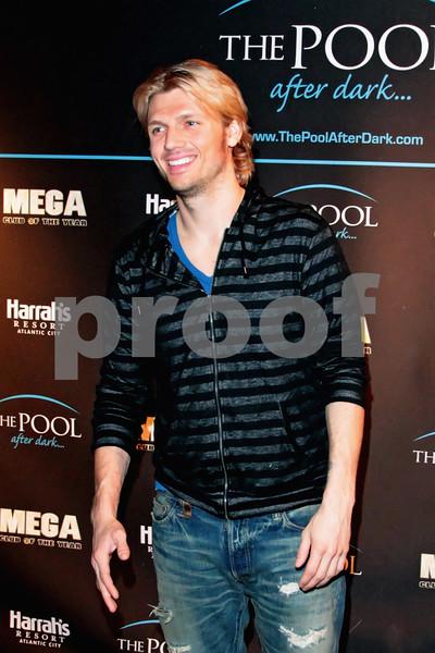 ATLANTIC CITY, NJ - FEBRUARY 04:  Nick Carter hosts a night at The Pool at Harrah's Resort on February 4, 2012 in Atlantic City, New Jersey.