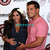 "ATLANTIC CITY, NJ - JULY 25:  Nicole ""Snooki"" Polizzi and Jionni Lavalle  attends the Earl of Sandwich Showboat Casino Grand Opening ribbon cutting ceremony on July 25, 2012 in Atlantic City, New Jersey."