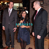 "ATLANTIC CITY, NJ - JULY 25:  L- R Steve Heeley, President /COO of Earl Of Sandwhich, Nicole ""Snooki"" Polizzi and Kevin Ortzman, Senior Vice President and General Manager of Bally's & Showboat attends the Earl of Sandwich Showboat Casino Grand Opening ribbon cutting ceremony on July 25, 2012 in Atlantic City, New Jersey."