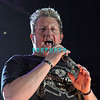 ATLANTIC CITY, NJ - JANUARY 28:  Rascal Flatts Member Gary LeVox performs at the Boardwalk Hall Arena on January 28, 2012 in Atlantic City, New Jersey.  (Photo by Donald Kravitz/Getty Images)