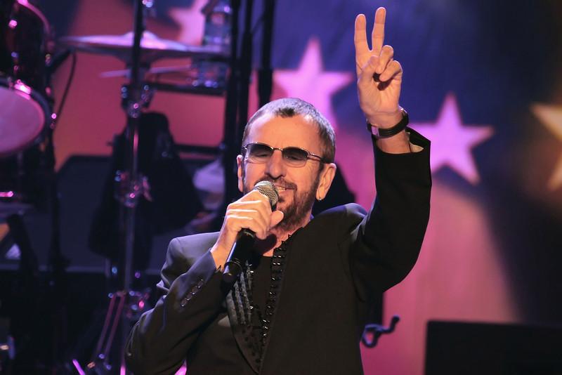 ATLANTIC CITY, NJ - JUNE 23:  Ringo Starr performs at Circus Maximus Theatre at Caesar's Atlantic City on June 23, 2012 in Atlantic City, New Jersey.