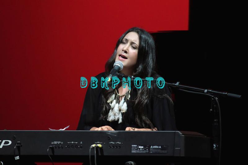 ATLANTIC CITY, NJ - JULY 15:  Vanessa Carlton opening act for Stevie Nicks performs at Borgata Hotel Casino & Spa on July 15, 2012 in Atlantic City, New Jersey.