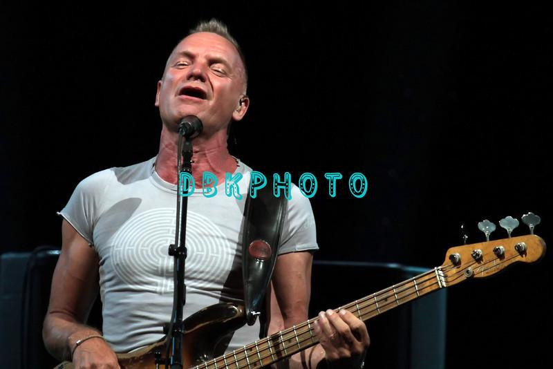 ATLANTIC CITY, NJ - JUNE 09:  Sting performs in the Event Center at Borgata Hotel Casino & Spa on June 9, 2012 in Atlantic City, New Jersey.