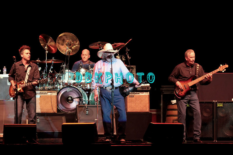 ATLANTIC CITY, NJ - AUGUST 31:  Chris Wormer, Pat McDonald, Charlie Daniels and Charlie Hayward of The Charlie Daniels Band performs at Trump Taj Mahal on August 31, 2012 in Atlantic City, New Jersey.