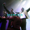 ATLANTIC CITY, NJ - JUNE 29: L-R  Tito Jackson, Jackie Jackson, Jermaine Jackson and Marlon Jackson performs during the The Jacksons Unity Tour at The Borgata Event Center on June 29, 2012 in Atlantic City, New Jersey.