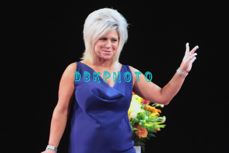 ATLANTIC CITY, NJ - OCTOBER 13:  Theresa Caputo appears on stage at the Tropicana Showroom on October 13, 2012 in Atlantic City, New Jersey