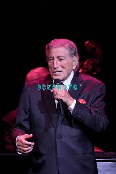 ATLANTIC CITY, NJ - SEPTEMBER 29:  Tony Bennett performs in concert at The Borgata Event Center on September 29, 2012 in Atlantic City, New Jersey.