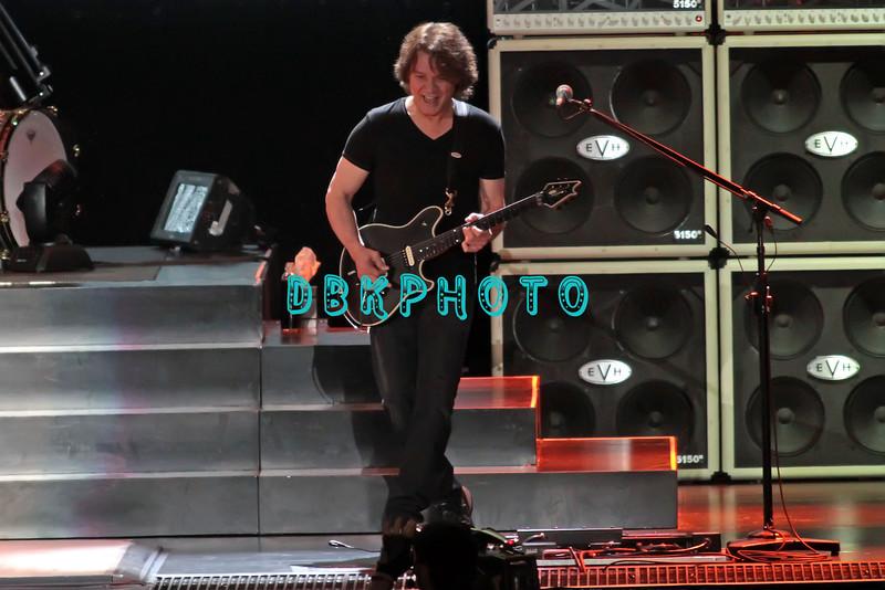 ATLANTIC CITY BOARDWALK HALL- March 24, 2012  Van Halen in Concert