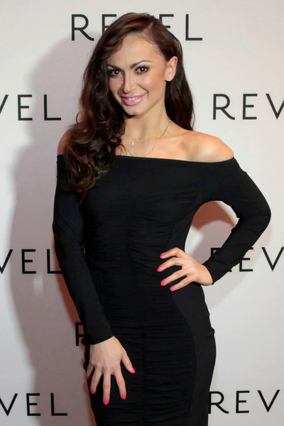 ATLANTIC CITY, NJ - FEBRUARY 15:  Karina Smirnoff  poses for photographs at her Valentine's Fan Meet And Greet at Revel Casino on February 15, 2013 in Atlantic City, New Jersey.