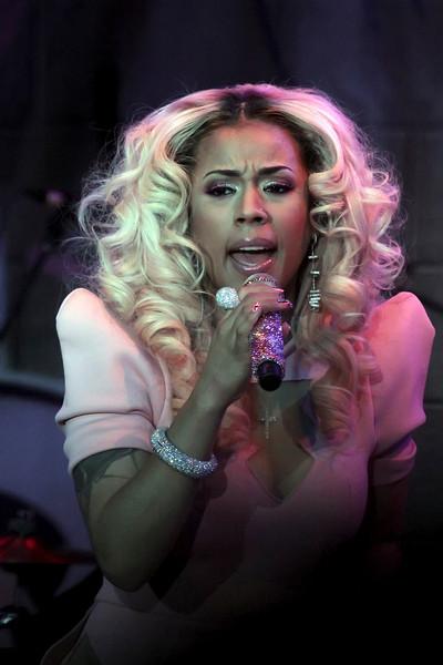 Atlantic City, NJ - Keyshia Cole appeared in concert in the Music Box at Borgata, Saturday evening April 6, 2013.